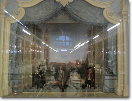 Full size mini theatre in the museum of childhood